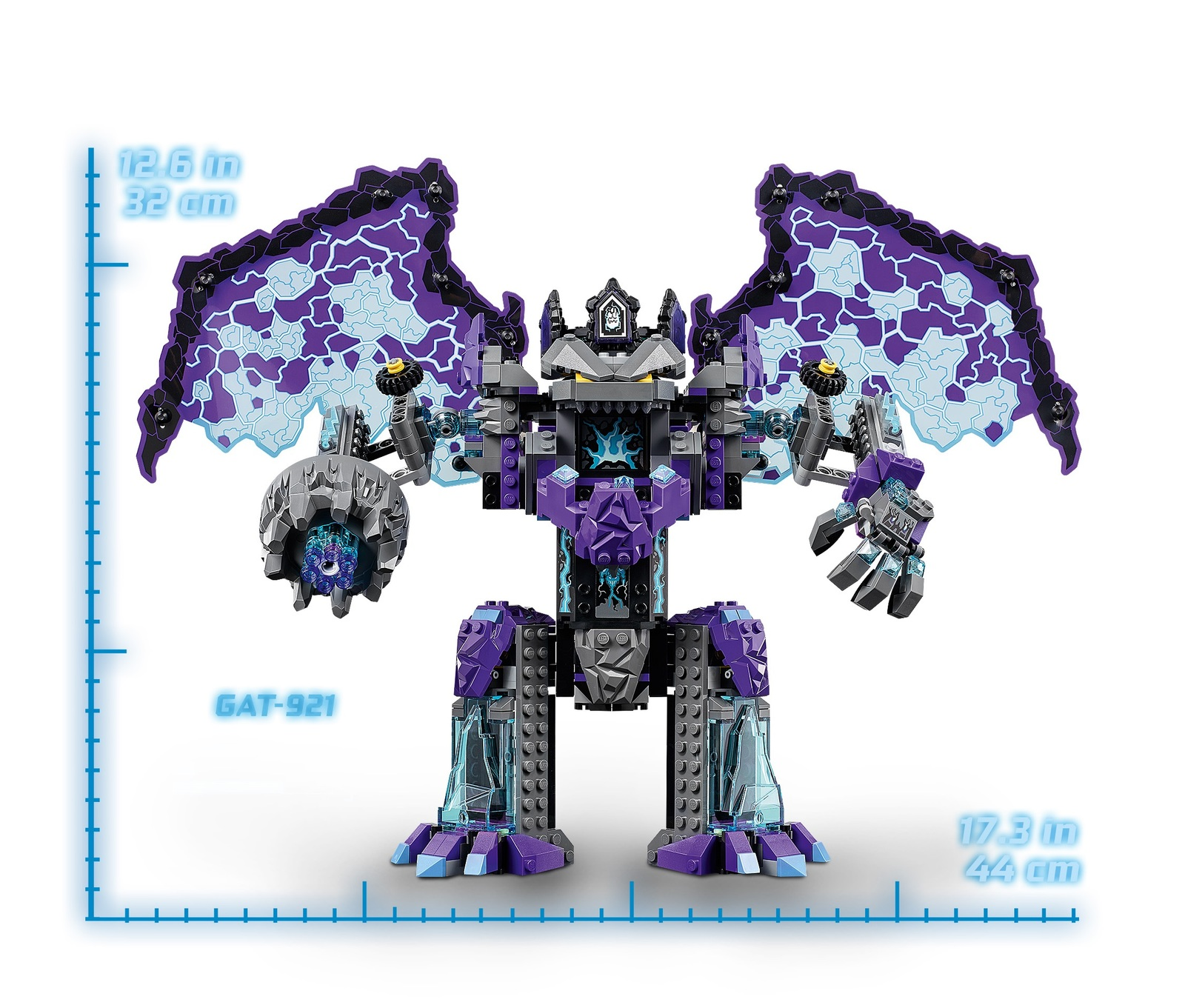 LEGO Nexo Knights: The Stone Colossus of Ultimate Destruction (70356) image