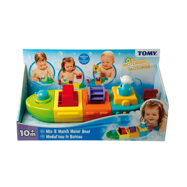 Tomy: Mix & Match Motor Boat Bath Toy