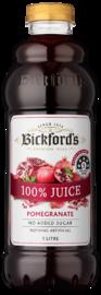 Bickfords: Premium Juice - 100% Pomegranate 1L (6 Pack)
