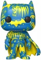 DC Comics: Batman (Blue & Yellow) Pop! Vinyl Figure + Protector