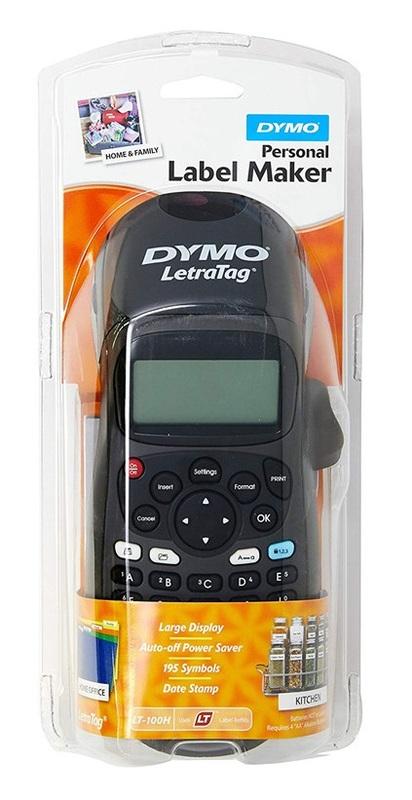 Dymo: LetraTag LT100H Handheld Label Maker - Black