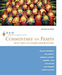 Commentary on Feasts, Holy Days and Other Celebrations image