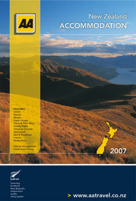 AA NZ 2007 Accommodation Guide image