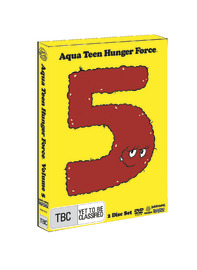Aqua Teen Hunger Force - Volume 5 on DVD