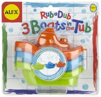 Alex: Rub a Dub 3 Boats In The Tub