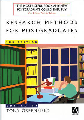 Research Methods for Postgraduates by Tony Greenfield image