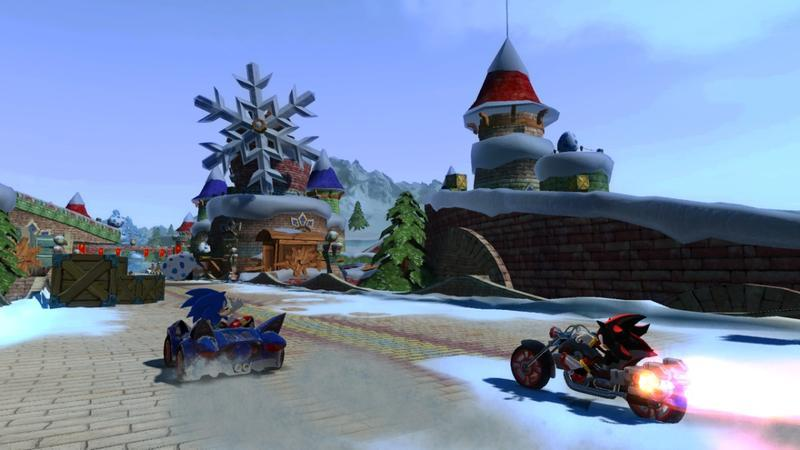 Sonic & SEGA All-Stars Racing plus Wheel for Nintendo Wii image