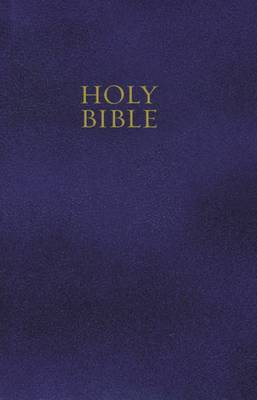 KJV, Gift and Award Bible, Imitation Leather, Blue, Red Letter Edition by Thomas Nelson image