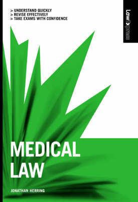Medical Law by Jonathan Herring image