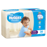 Huggies Ultra Dry Nappies Bulk - Toddler Boy 10-15 kg (36)