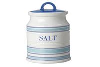 Maxwell & Williams: Coastal Stripes Canister - Salt (750ml) Gift Boxed