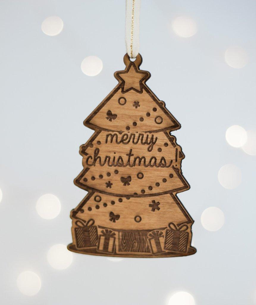 Cardtorial Christmas Ornament - Christmas Tree image