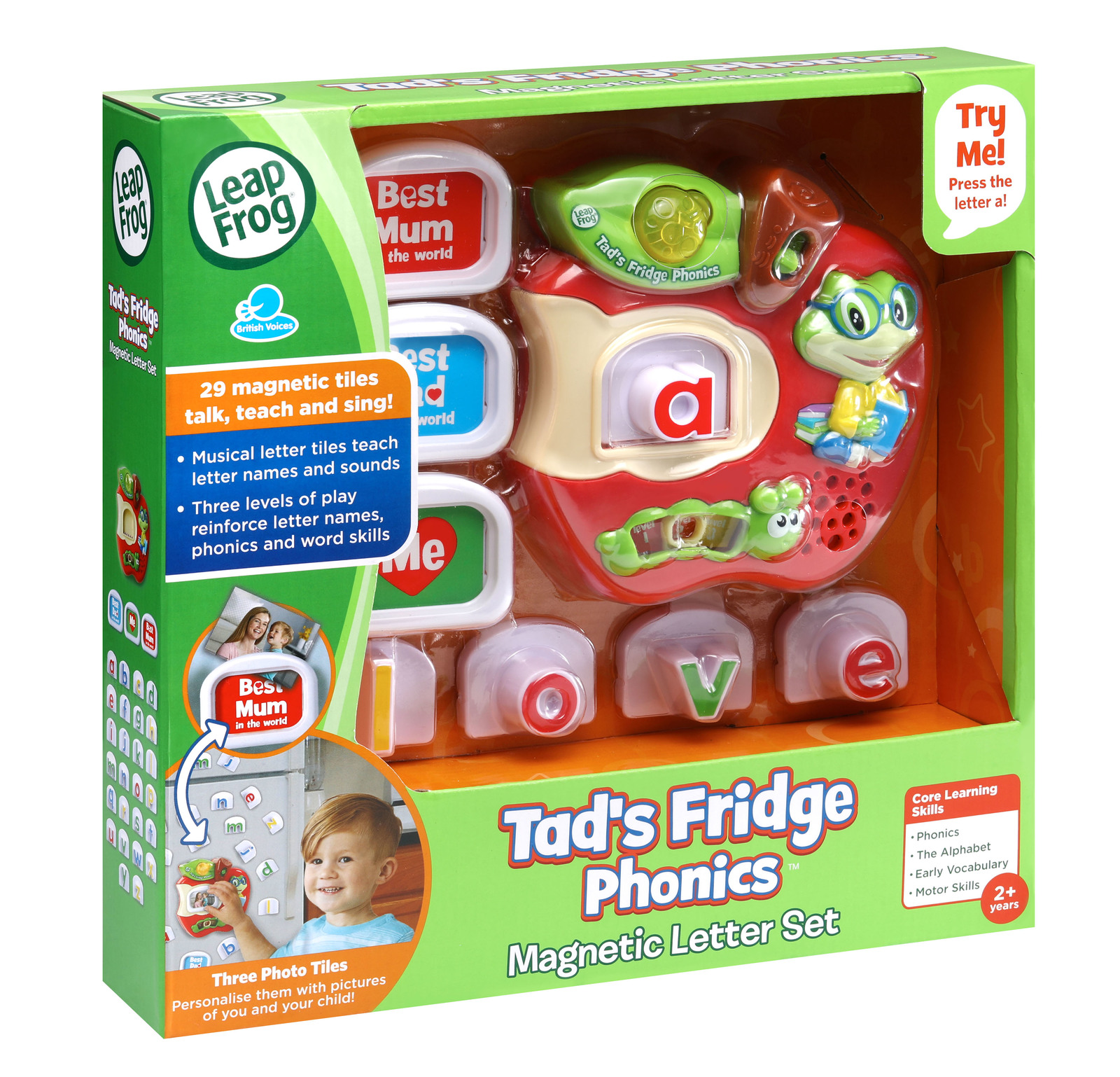 Leapfrog: Tads Fridge Phonics image