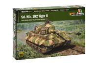 Italeri 1/56 King Tiger (Warlord Games) - Scale Model Kit