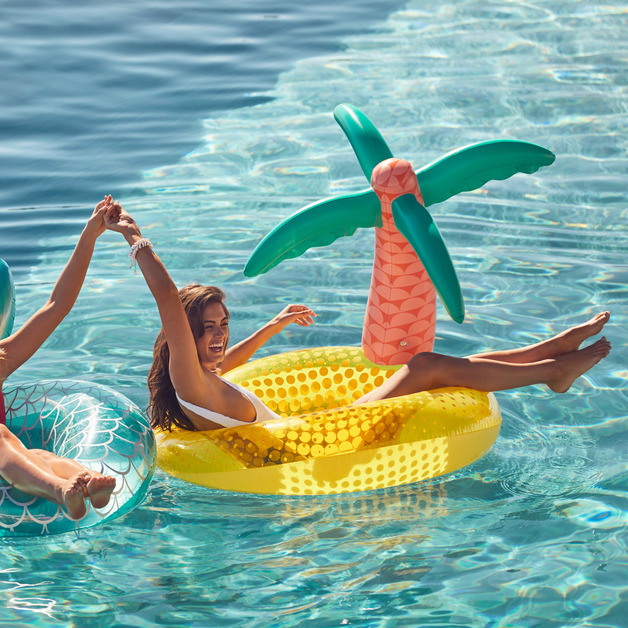 Sunnylife Luxe Pool Ring - Tropical Island