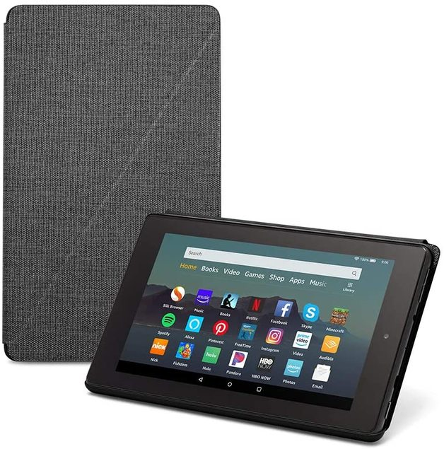 Amazon: Fire 7 - Tablet Case (Charcoal Black)