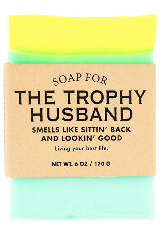 Whiskey River Co: Soap for The Trophy Husband