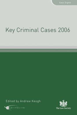 Key Criminal Cases: 2006 image