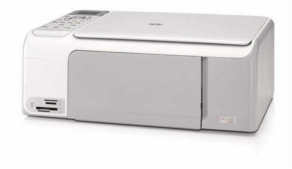 Hewlett-Packard Photosmart C4180 All in one Printer Easy and reliable photo printer image