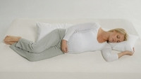 Inspired Mother Maternity Pillow & White Pillow Case