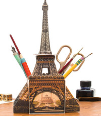 Artful Organizer: Eiffel Tower Desk Tidy by Chronicle Books