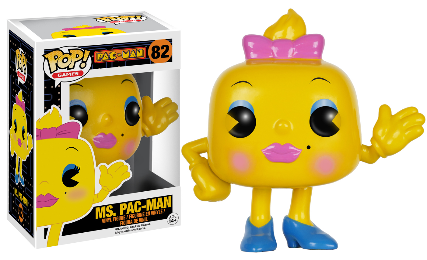 Pac-Man - Ms. Pac-Man Pop! Vinyl Figure image