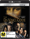 The Da Vinci Code (4K UHD + Blu-ray + UV) DVD
