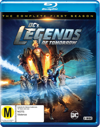 DC'S Legends of Tomorrow - The Complete First Season on Blu-ray