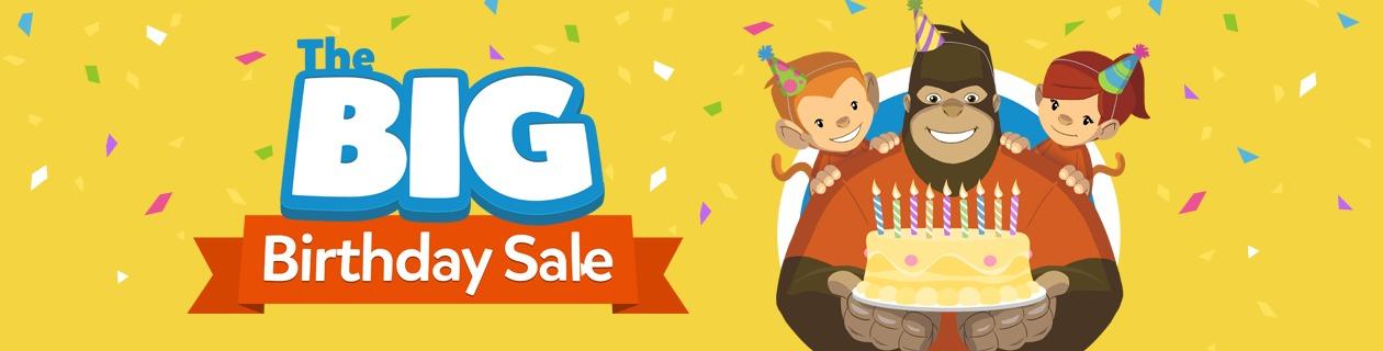 Big Birthday Sale