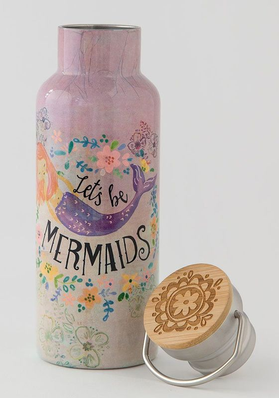 Natural Life: Traveler Bottle - Let's Be Mermaids