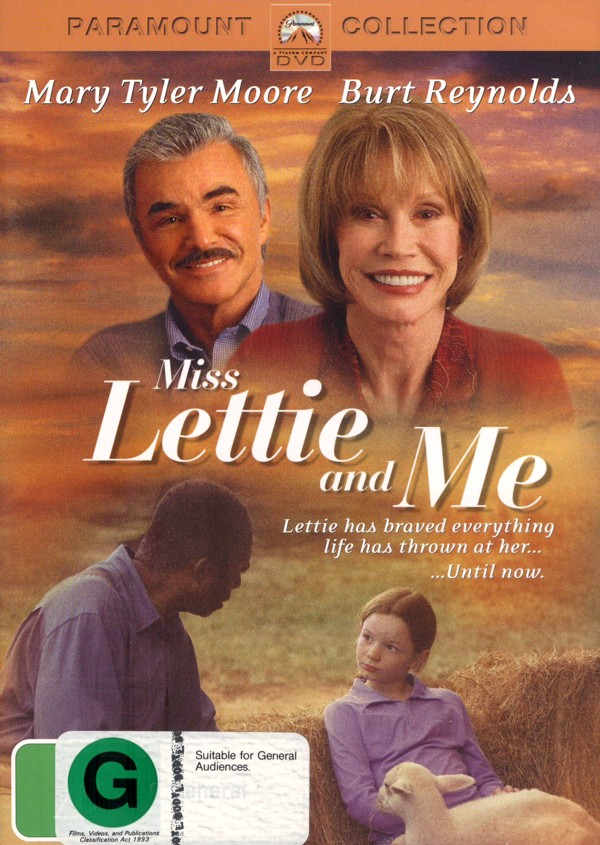 Miss Lettie and Me on DVD image