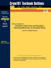 Studyguide for Diversity in Early Care and Education by Cram101 Textbook Reviews image