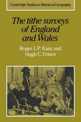 The Tithe Surveys of England and Wales by Roger J.P. Kain image