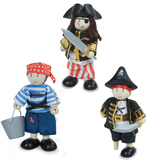 Le Toy Van: Budkins - Pirates Gift Pack