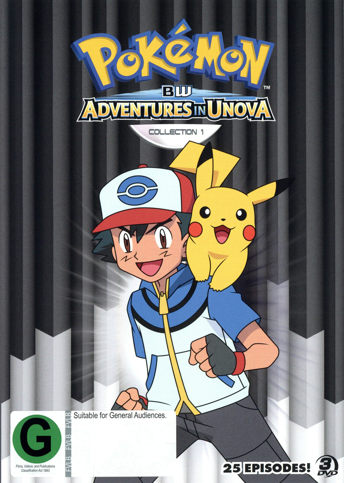 Pokemon Black & White: Adventures in Unova and Beyond - Collection 1 on DVD image