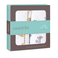 Aden+Anais Swaddle - Jungle Jam (2 Pack Swaddling Wraps) image