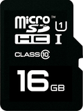 16GB Emtec - microSDHC Card with SD Adapter (Class 10)