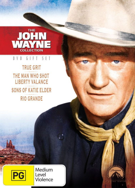 John Wayne Collection, The (True Grit / Liberty Valance / Sons Of Katie Elder / Rio Grande) (4 Disc Box Set) on DVD image