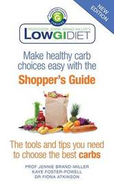Low GI Diet Shopper's Guide by Jennie Brand-Miller