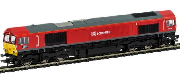 Hornby: Co-Co Diesel 'DP World London Gateway' '66185' Class 66