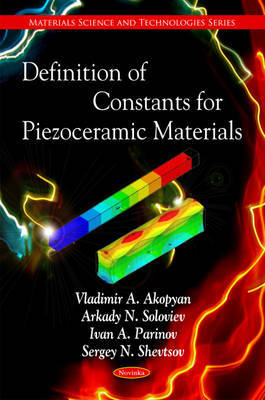 Definition of Constants for Piezoceramic Materials by Vladimir A. Akopyan