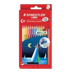 Staedtler Luna 137 Watercolor Pencils (12 Pack)