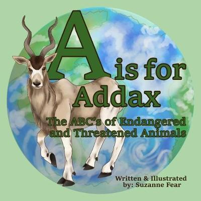 A is for Addax by Suzanne Fear image