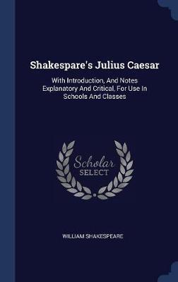 Shakespare's Julius Caesar by William Shakespeare image
