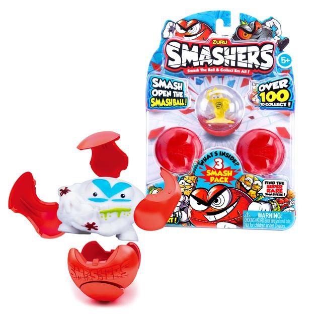 Smashers: Mini Figure 3-Pack - Series 1 (Assorted Designs)
