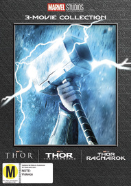 Thor: 3 Movie Collection on DVD