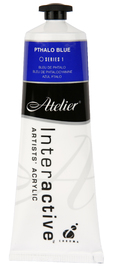 Atelier: Interactive Artists' Acrylic Paint - Pthalo Blue (80ml)