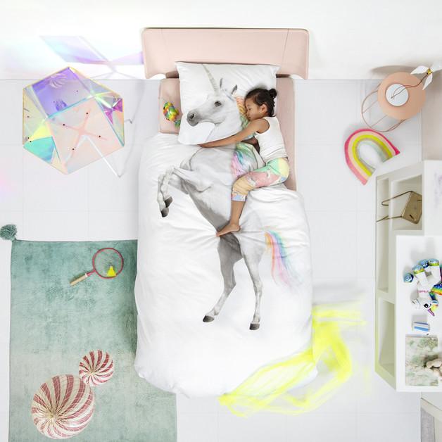 Snurk: Quilt Cover Set Unicorn - King Single