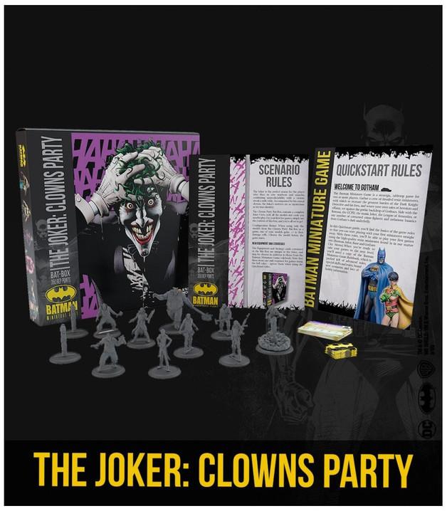 Batman: Miniatures Game - The Joker's Clowns Party Bat Box Set