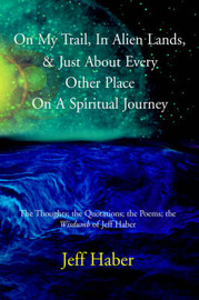 "On My Trail, in Alien Lands, & Just about Every Other Place on a Spiritual Journey : The Thoughts; The Quotations; The Poems; The ""Wisdumb"" of Jeff Haber by Jeff Haber image"